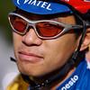 Jorge is always prepared to ride