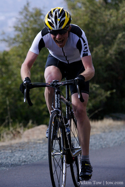 Tim Clark puts his finishing stamp on Mt. Diablo