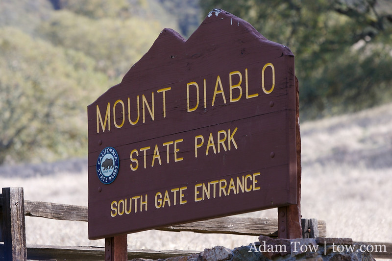 The Devil Mountain, Mt. Diablo