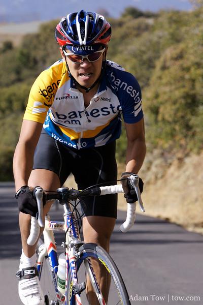 Jorge, it's far more comfortable taking photos than riding the bike!