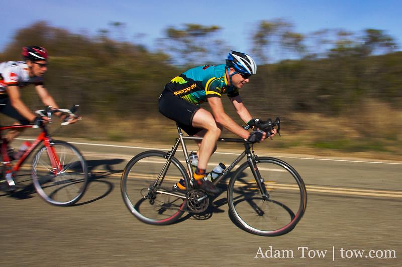 Week 9 of Low-Key Hillclimbs finishes on Mt. Hamilton.
