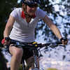 Melissa conquers Quimby on her mountain bike