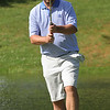 Round 2 of Lowell City Golf Tournament, at Long Meadow Golf Club. Mike Walker of Nabnasset lines up a putt. (SUN/Julia Malakie)