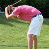 Round 2 of Lowell City Golf Tournament, at Long Meadow Golf Club. Andrew Conway of Vesper reacts to a misses putt on the 9th hole. (SUN/Julia Malakie)
