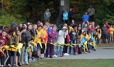 Annual Lowell Middle School Cross Country Championships at Shedd Park. (SUN/Julia Malakie)