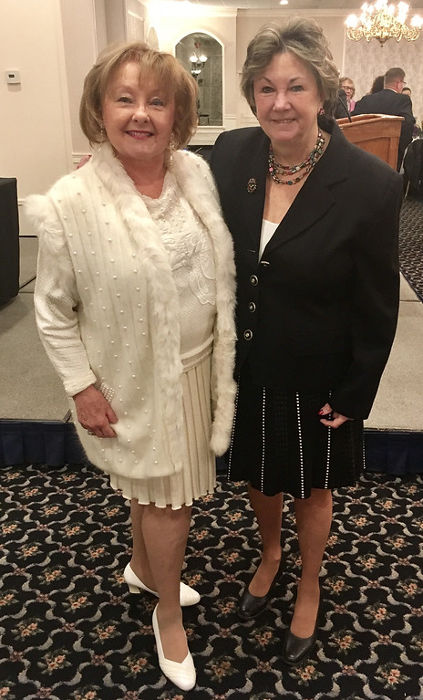 . Leslie Morin, left, and City Councilor Rita Mercier both of Lowell