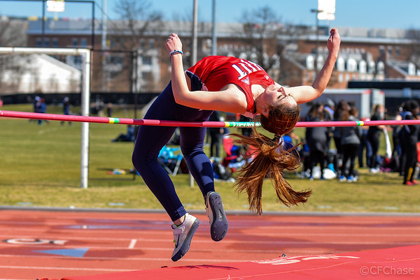Women's High Jump at Maryland Invitational 03.18.17