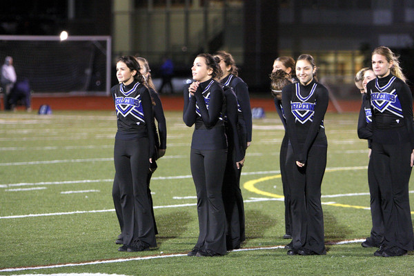 Pictures from Ludlowe High School Dance Team at halftime of the Staples at Ludlowe football game