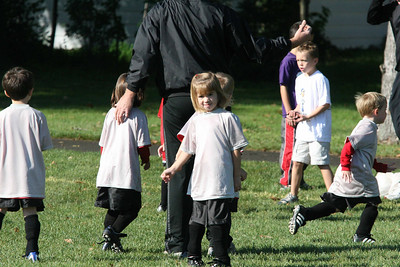 Luke's Rec Soccer Game 9-29-2007