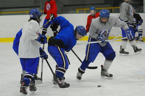 Lunenburg/Ayer Hockey Practice