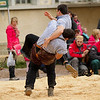 95ème fête cantonale neuchâteloise de lutte suisse à Couvet