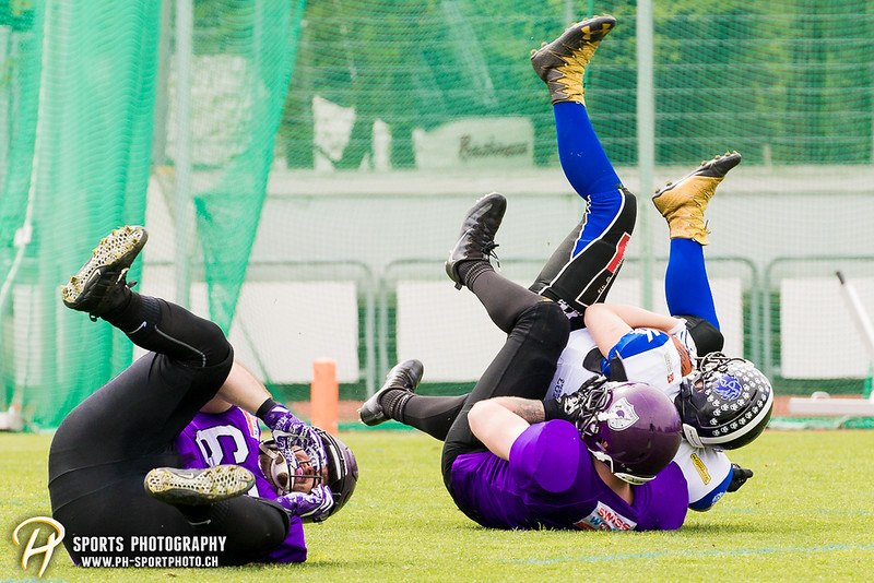SAFV Liga A: Gladiators beider Basel - Luzern Lions - 37:20