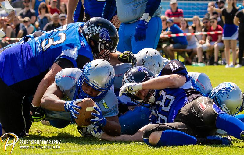 SAFV Liga A: Luzern Lions - Geneva Seahawks - 0:41