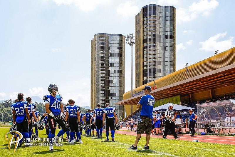 American Football - SAFV - Liga A: Luzern Lions - Calanda Broncos - 12:58