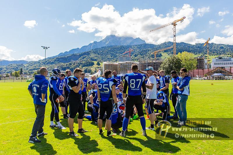 NSFL - 2018: Luzern Lions - Monthey Rhinos - 26-08-2018