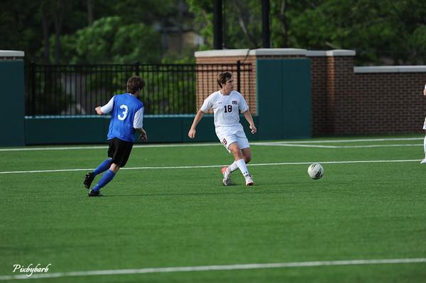 MBA Varsity Soccer vs BGA 2013