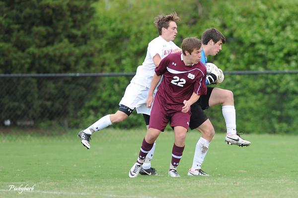 MBA Varsity Soccer vs Baylor 2013