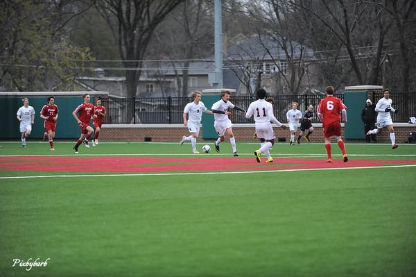 MBA Varsity Soccer vs Fire 2013