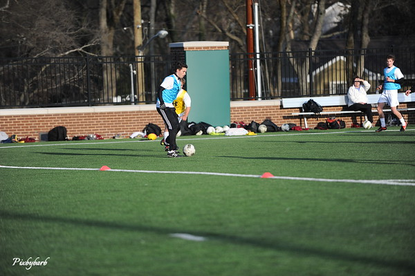 MBA Varsity Soccer vs Overton 2013