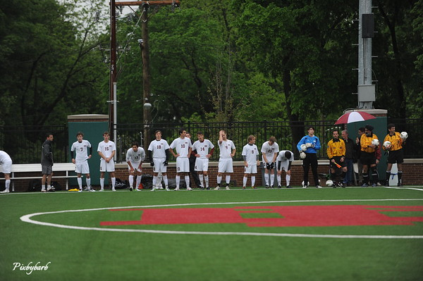 MBA Varsity Soccer vs Father Ryan 2013