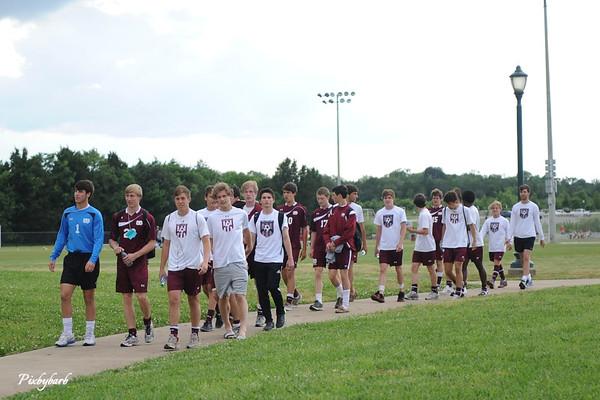 MBA Varsity Soccer State Championship Game 2013