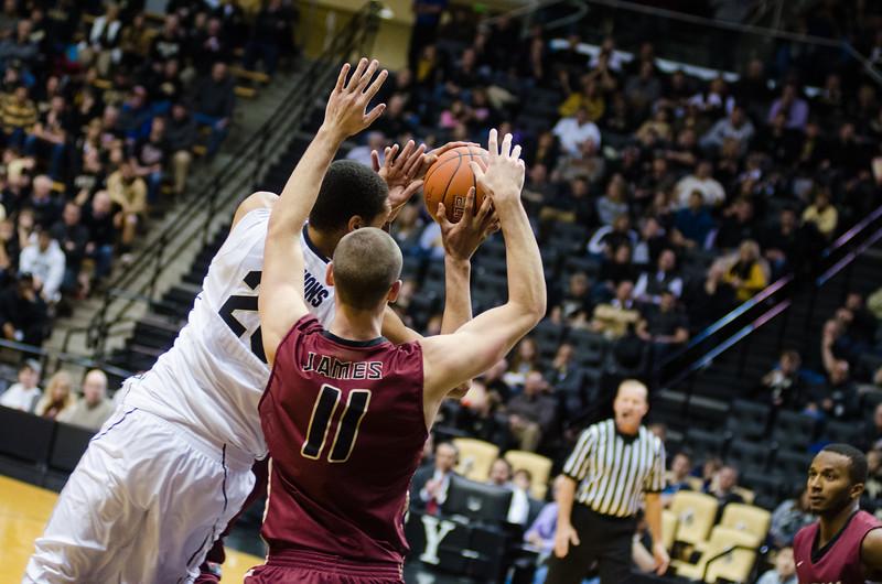 11/16/14 Basketball vs. IUPUI, A.J. Hammons