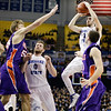 Indiana State Sycamores Men's  Basketball Host Evansville Purple Aces