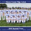 MCHS Baseball 2015 8x10