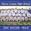 MCHS Boys Soccer Team 8X10
