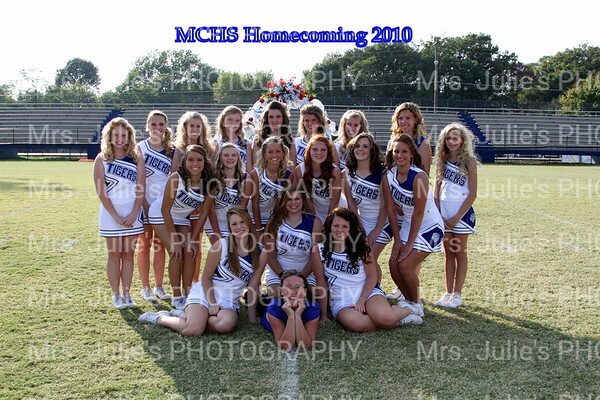 MCHS Cheerleaders 10-11