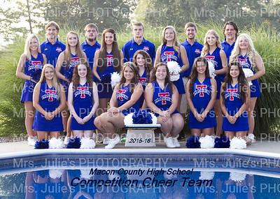 MCHS Cheerleaders 2015