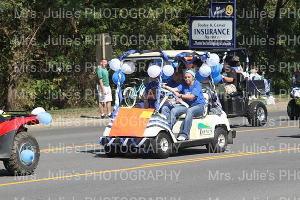 MCHS Homecoming Parade 2011