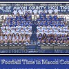 Macon Football Team 2014 20x30 poster