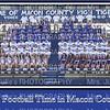 Macon Football Team 2014 20x30 poster