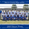 MCHS Girl's Soccer 2015 team 8x10