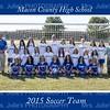 MCHS Girl's Soccer 2015 team 8x10