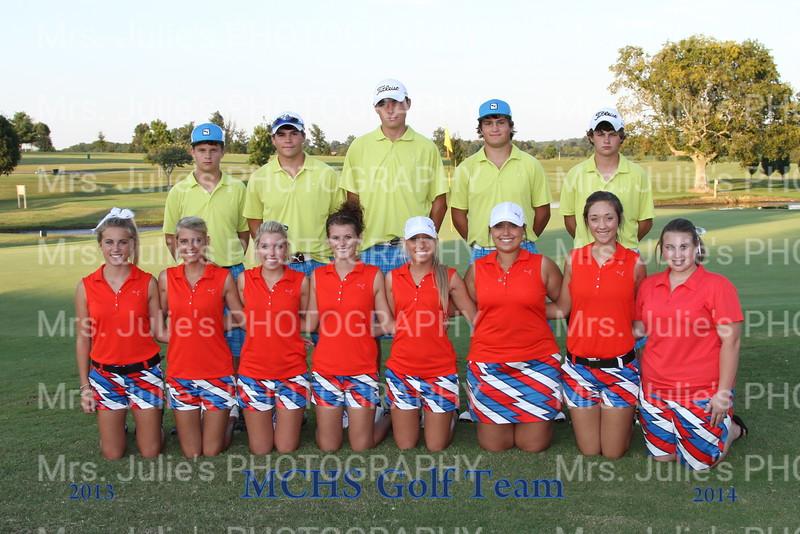 Golf Team 13-14