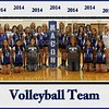 MCHS Volleyball 2014 8x10