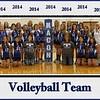 MCHS Volleyball 2014 8x10