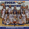 MCJHS Girls Basketball 2014 8x10