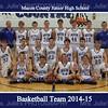 MCJHS Basketball 2014  8x10
