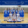 MCJHS BASKETBALL TEAM 15-16   8X10