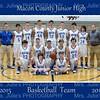 MCJHS Basketball 15-16  team  8x10