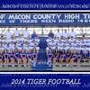 MCJHS Football Team 2014  5x7