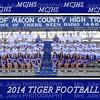 MCJHS Football Team 2014 8x10