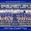 MCJHS Football 2015 Team 5x7