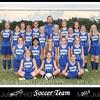 MCJHS Girl's Soccer 2014 5x7