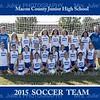 MCJHS 2015 Soccer team  8x10