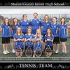 MCJHS Girl's Tennis Team 2013
