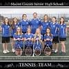 MCJHS Girl's Tennis Team 2013